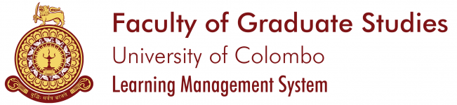 Online Learning Management System, Faculty of Graduate Studies